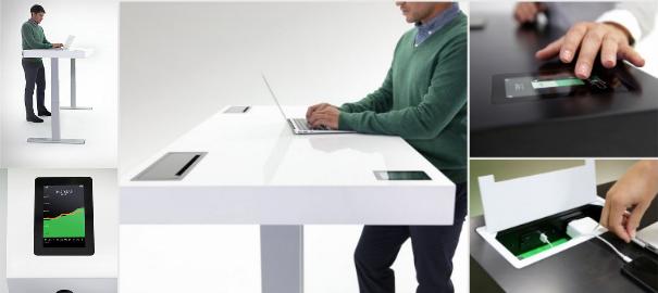 Der intelligente Schreibtisch -Stir Kinetic