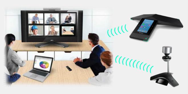 Polycom Logitech Konferenzsystem Videokonferenz Webcam Konferenztelefon