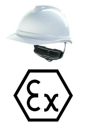 MSA V-Gard 500 Arbeitsschutzhelm mit Lüftung