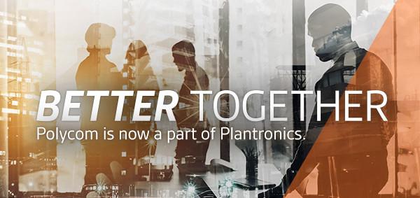 Polycom ist nun Teil von Plantronics